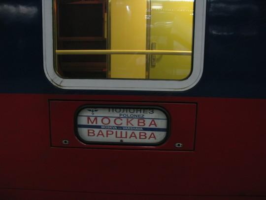Pociąg do Moskwy