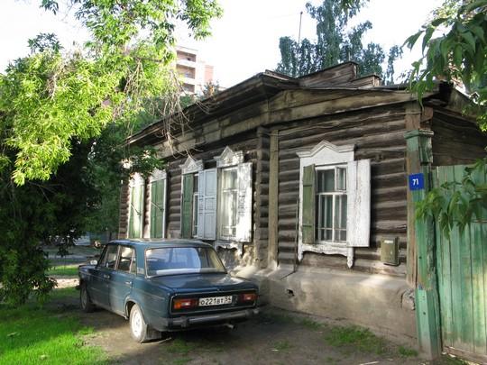 Drewniaki w Nowosybirsku