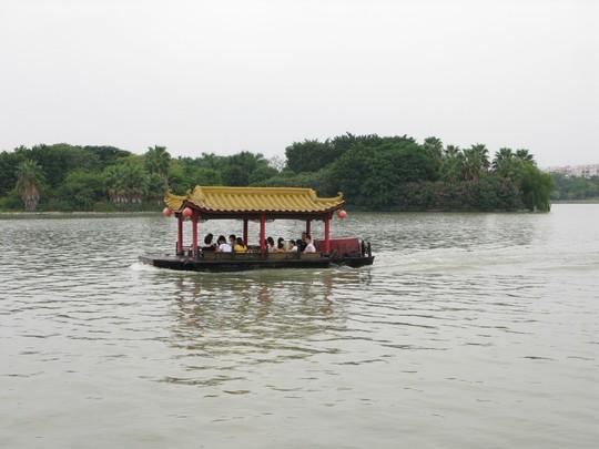 Lodeczka na Xihu