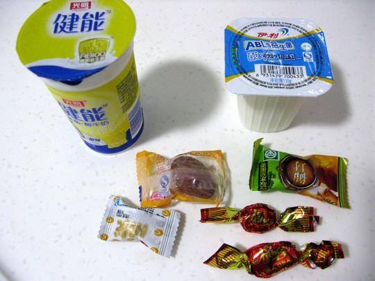 Jogurty i niby-cukierki