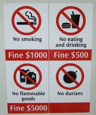 no-durian-allowed