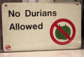 no-durians