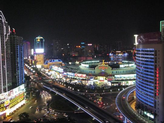 Xiamen z hotelu