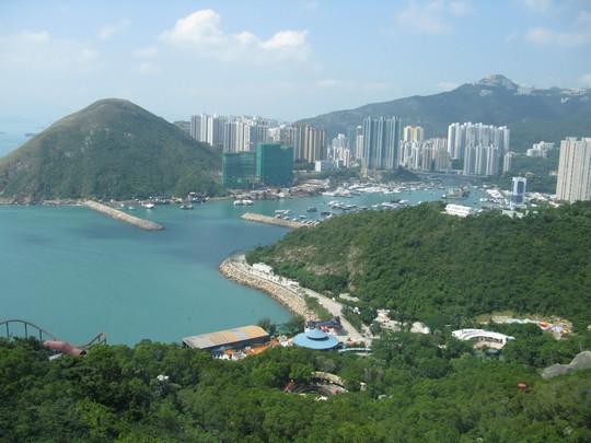 Widok z Ocean Park