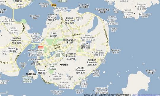 xiamen-map