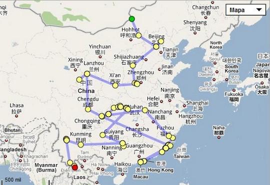 Nasza podroz przez Chiny
