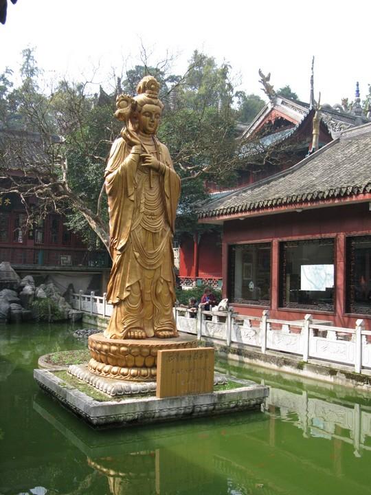 Swiatynia w Parku Qianling