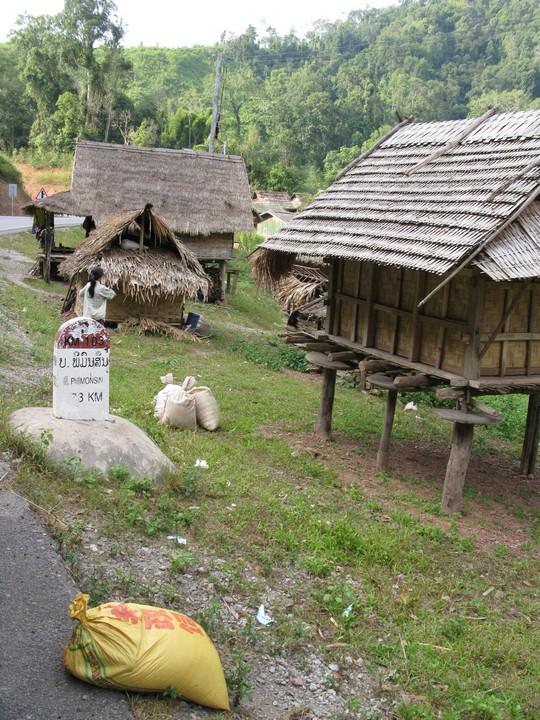 Laotanskie wioski
