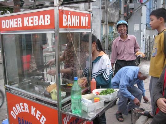 Kebab w Hanoi