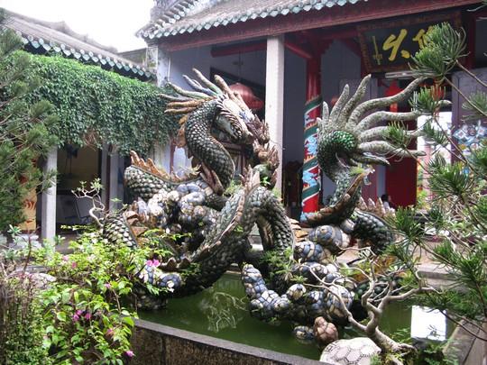Świątynie w Hoi An - Smok