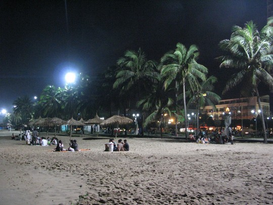Plaza Nha Trang nocą