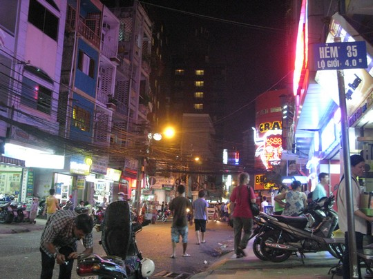 Ulice Sajgonu