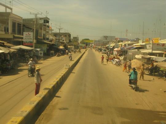 Ulice w Kambodzy