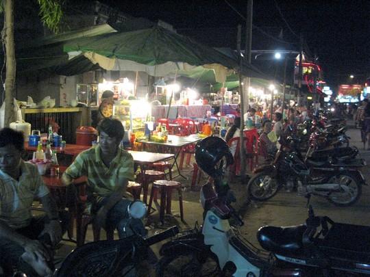 Uliczne bary Siem Reap