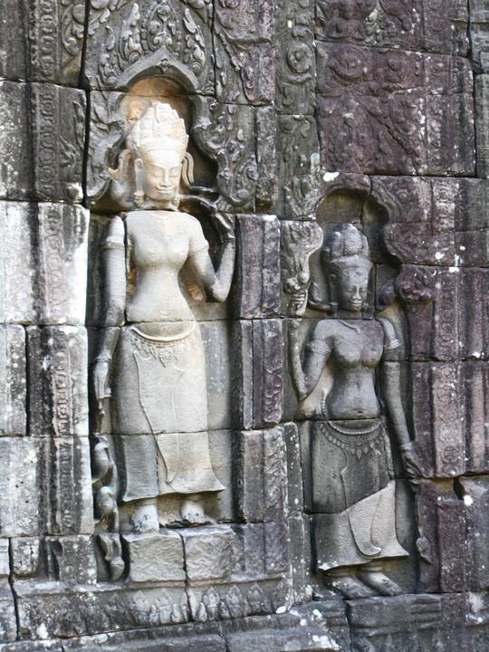 Plaskorzezby Swiatyn Angkoru