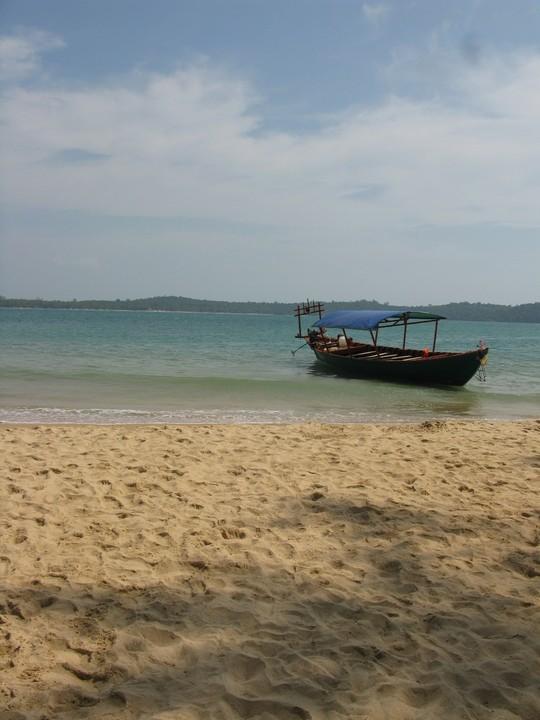 Rajskie plaże kambodżańskich wysp