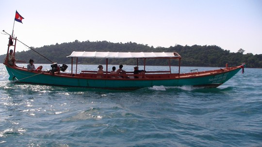 Lodka na wyspy