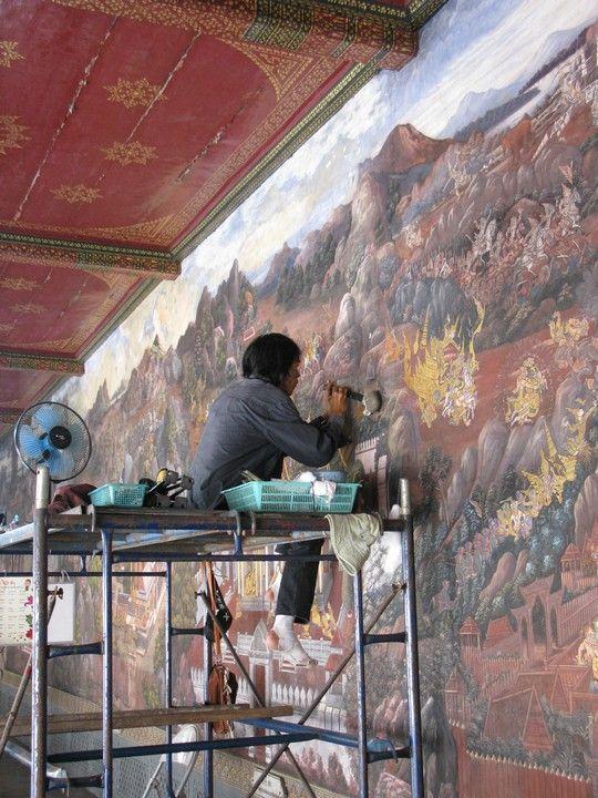 Renowacja malowidel