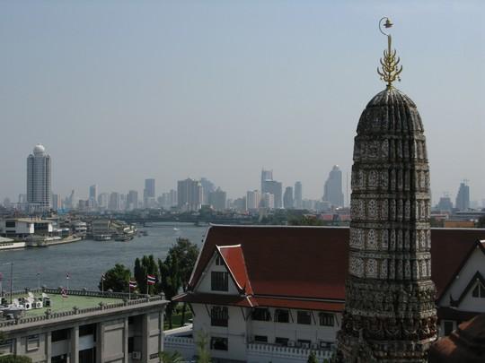 Bangkok z Wat Arun