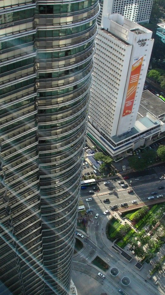 Widok z Petronas Towers