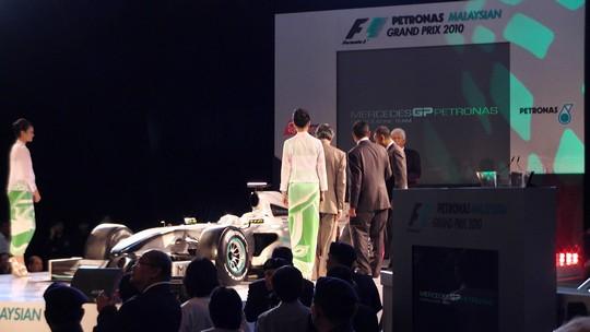 Prezentacja bolidu Mercedes GP