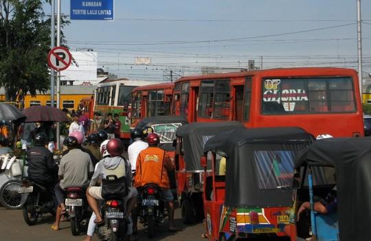 Ulica w Jakarcie