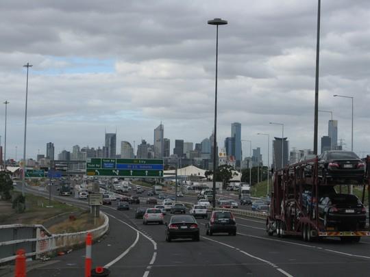 Droga w Melbourne