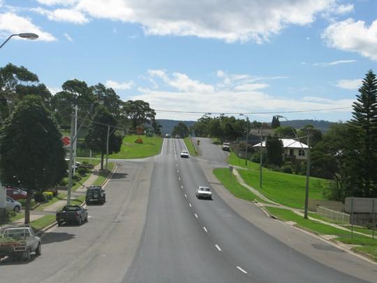 Drogi w miasteczkach Australii