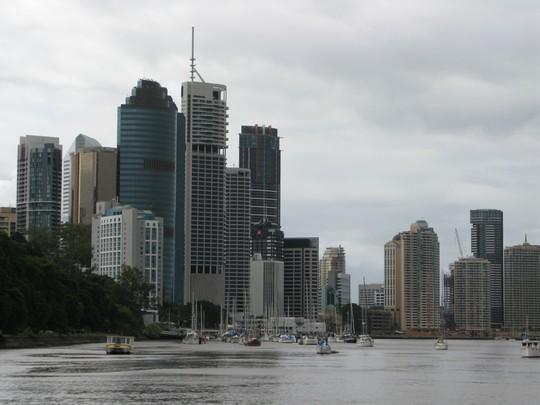 Brisbane z rzeki