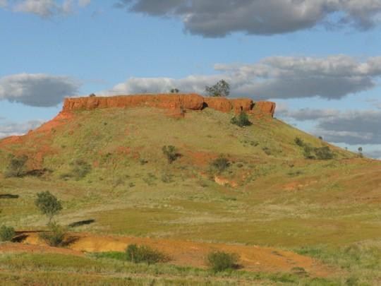 Krajobrazy outbacku