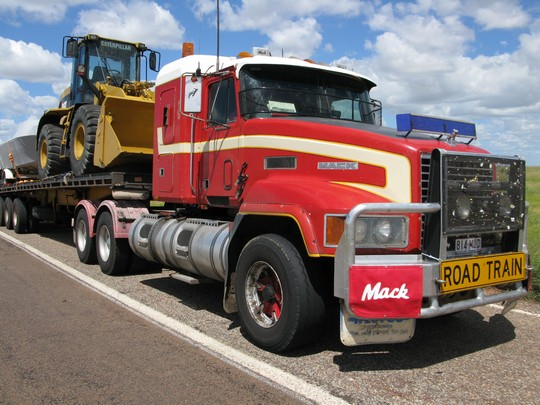 Nasz road train