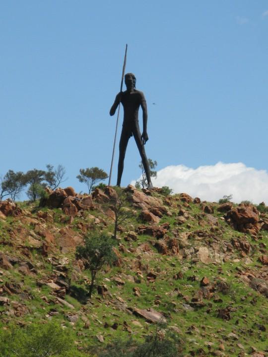 Posąg Aborygena