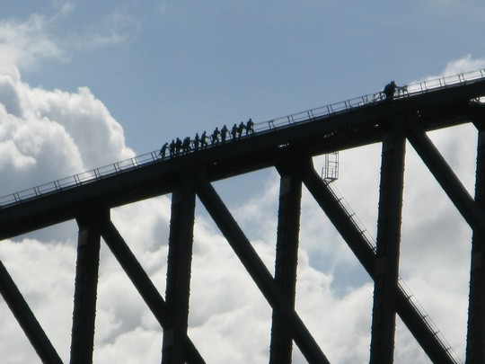 Climbing na Harbour Bridge