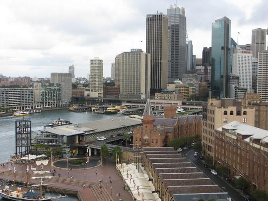 Widoki w Sydney
