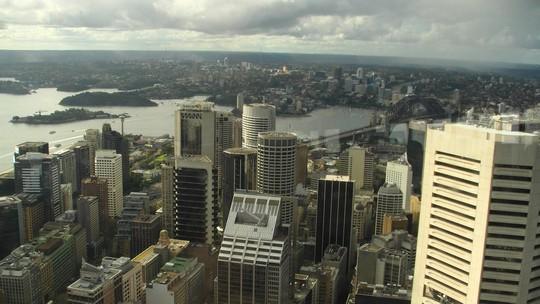 Sydney z wieży
