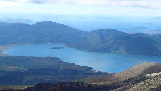 Jeziora Rotoaira i Taupo