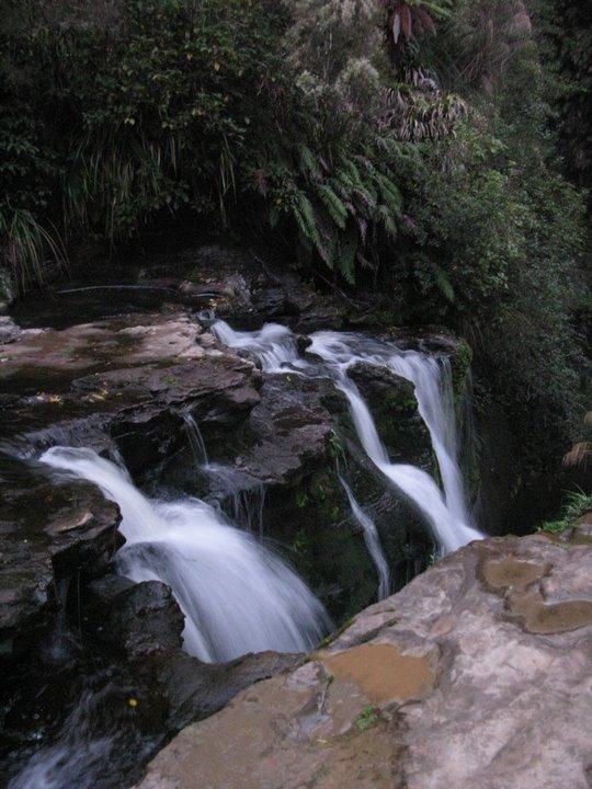 Wodospad na farmie Dana