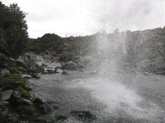 Pod Taranaki Falls