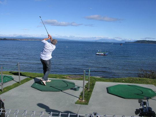 Golf w Taupo