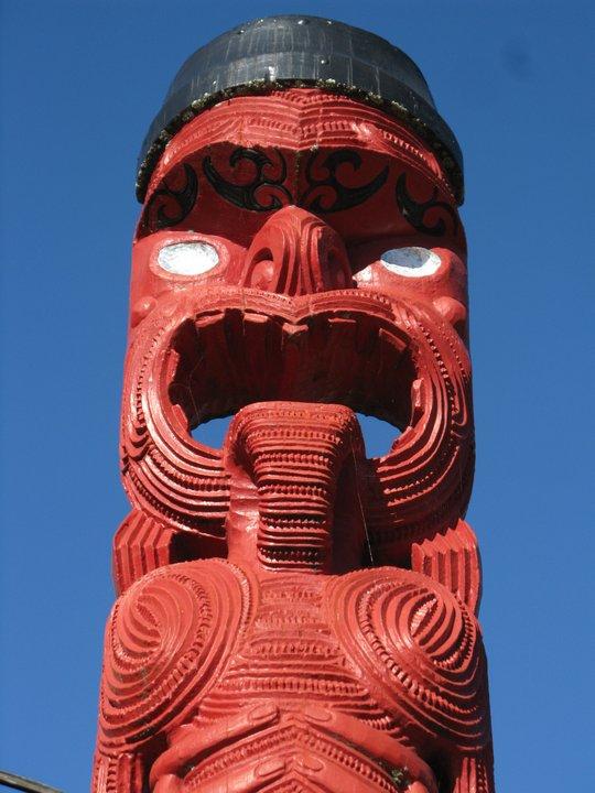 Maoryskie rzeżby