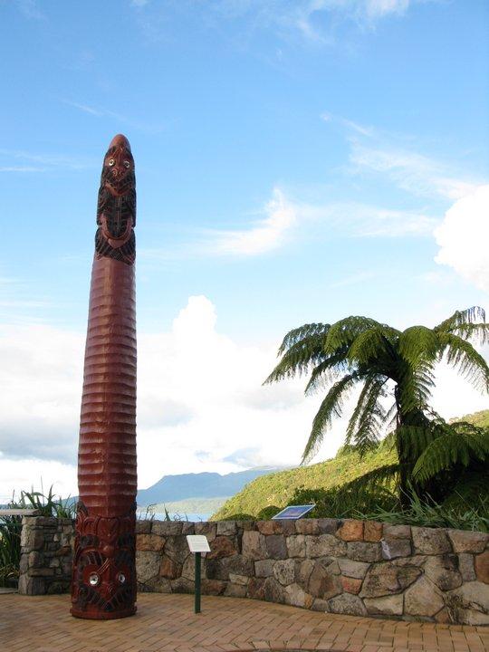 Monument przy Tarawera