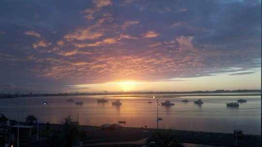 Wschód słońca w Taurandze