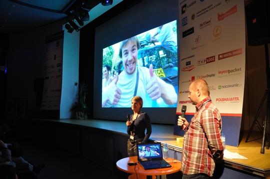 Prezentacja na Explorers Festival 2011