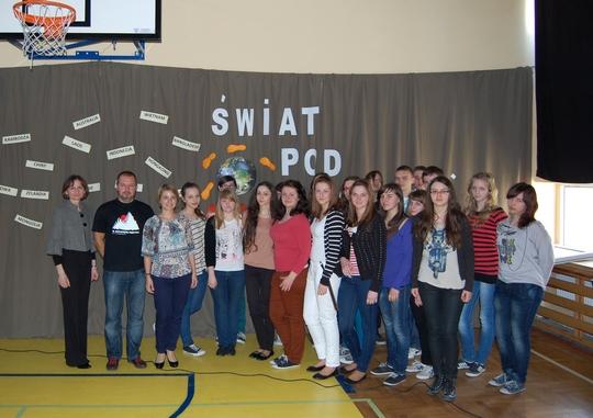 Grupa reprezentantów szkoły